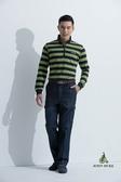 JOHN DUKE 約翰公爵美式休閒立領POLO衫(綠)