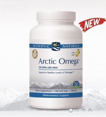 北歐天然 NORDIC ArcticOmega魚油膠囊食品EPA330 DHA220-天然檸檬風味-180粒【富山】特價中♥
