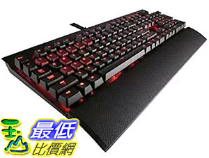 [105美國直購] Corsair Gaming K70 Mechanical Gaming Keyboard, Backlit Red LED (CH-9000114-NA) 電競 遊戲鍵盤