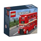 40220【LEGO 樂高積木】創意大師 Creator 系列 - 紅色雙層巴士(118pcs)