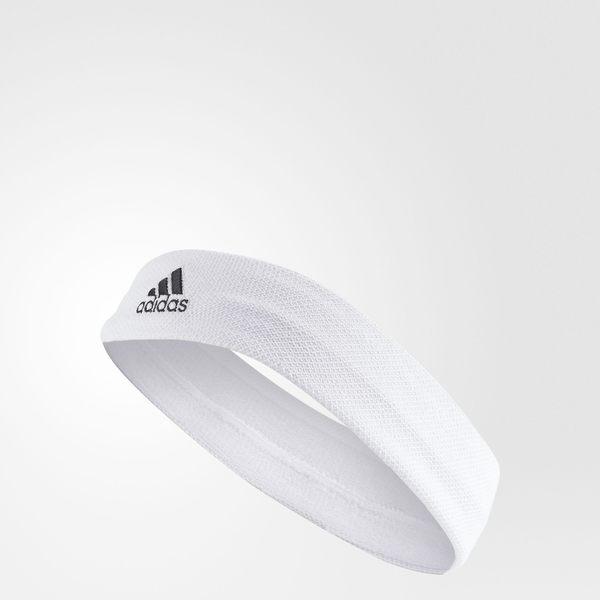 ADIDAS TEN HEADBAND 頭帶 網球 白 黑【運動世界】 S97911