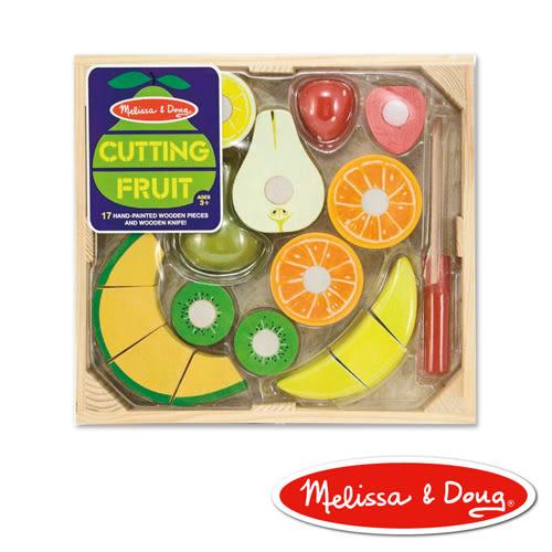 美國瑪莉莎 Melissa & Doug 玩食趣 - 切水果組