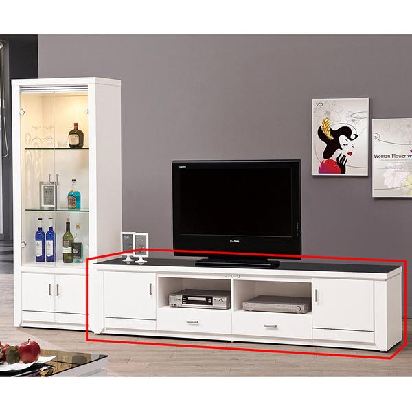 魯邦白色7尺電視櫃(18JS1/403-4)【DD House】