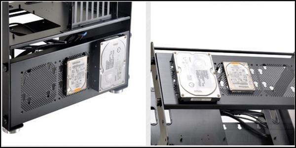 [地瓜球@] 聯力 LIANLI T80-2 鋁合金 風扇架 (黑色)~T80裸測平台專用