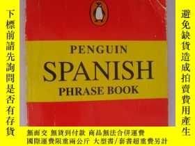 二手書博民逛書店PENGUIN罕見SPANISH PHRASE BOOK 西班牙