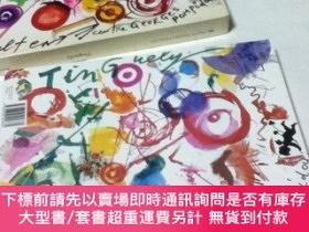 二手書博民逛書店佛文)ジャン·ティンゲリー展覽會圖錄Tinguely.罕見Centre Georges Pompidou, 8 d