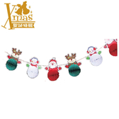 【X mas聖誕特輯】聖誕拉條吊飾 Z0630180