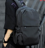 潮流雙肩包男士工裝旅行17寸電腦背包潮牌簡約大學高中生書包男包 3C優購