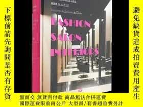 二手書博民逛書店Fashion罕見Salon Interiors美容美髮廳設計Y