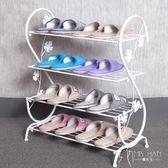 多層鞋架簡約現代落地宿舍拖鞋架/鞋柜