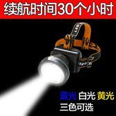 年終大促 頭燈強光防水頭頂燈迷你超小型充電徒步超亮頭戴式礦工燈