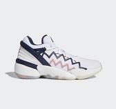 Adidas-D.O.N. ISSUE #2 GCA Bounce Lite男款白色籃球鞋-NO.FY0872