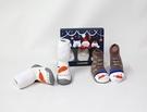 GGOMOOSIN學步鞋-眨眼小雪人+嬰兒襪(三尺寸可挑) 590元