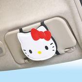 Hello Kitty 車用遮陽板置物袋497 KT SANRIO SEIWA