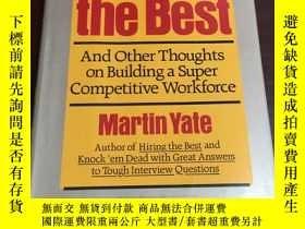二手書博民逛書店KEEPING罕見THE BESTY265439 出版1991