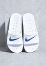 IMPACT Nike Kawa Shower Sliders 白 藍 拖鞋 防水 白勾 男女 832528-100