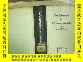 二手書博民逛書店New罕見Direction in Chemical Analy