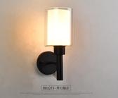 美式雙頭鐵藝壁燈過道走廊燈北歐客廳床頭燈