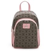 PLAYBOY- 後背包可斜背 萬花筒系列-粉色