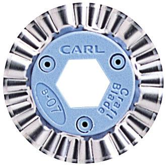 CARL    B-07 造型刀片 SQUIGGLE  /  片