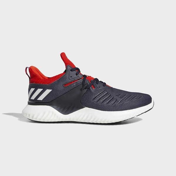 ADIDAS ALPHABOUNCE BEYOND 2 M [BD7097] 男鞋 運動 慢跑 休閒 無縫 舒適 深藍