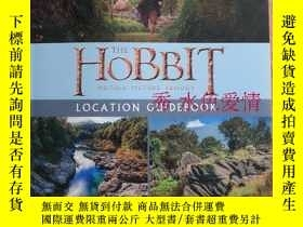 二手書博民逛書店The罕見Hobbit Location Guidebook 英