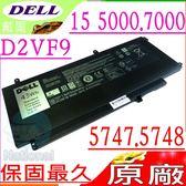 DELL 電池(原廠)-戴爾 D2VF9,Inspiron 15 5000電池,15 7000電池,N7548,15 7547,15 7548,N7547電池,P41F,PXR51