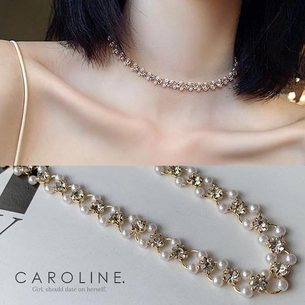 《Caroline》★韓國熱賣造型時尚品味、氣質、時尚 項鍊71293