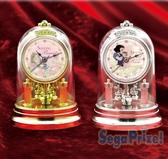 41+ GIFT 金銀雙媛 擺鐘 家飾 白雪公主 睡美人日本 SEGA 迪士尼 限定款 兩款可選
