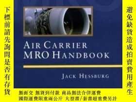 二手書博民逛書店Air罕見Carrier Mro HandbookY307751 Jack Hessburg Mcgraw-h