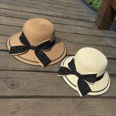 女童帽子夏季兒童草帽親子帽沙灘防曬遮陽公主帽寶寶涼帽女太陽帽 小巨蛋之家