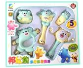 嬰兒童早教搖鈴套裝6-12個4月男孩女7寶寶8益智力玩具1-2-3周歲