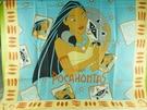 【震撼精品百貨】Disney 迪士尼 Pocahontas_風中奇緣~絲巾-鳳中奇緣公主+寵物