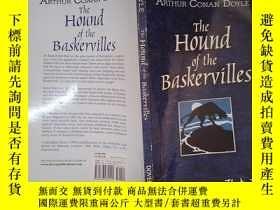 二手書博民逛書店The罕見Hound of the Baskervilles(詳見圖)Y6583 Arthur Conan D