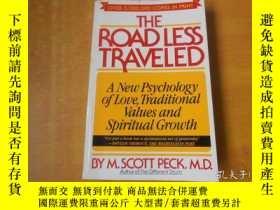 二手書博民逛書店The罕見Road Less Traveled: a new p