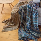 仿羊絨毛毯 波西米亞針織毯子 毛毯「雙10特惠」