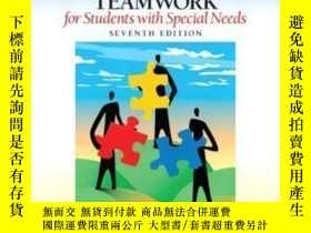 二手書博民逛書店Collaboration罕見Consultation And Teamwork For Students Wit