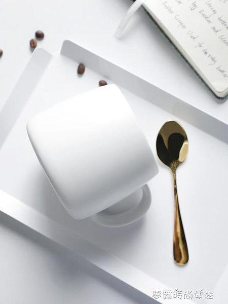 馬克杯簡約北歐風家用辦公室水杯陶瓷情侶咖啡杯子早餐牛奶杯 夢露時尚女裝