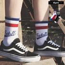 襪子 FUCKOFF 潮流調色 穿搭款 中/長筒襪 穿搭 滑板 街舞 街頭 襪子【KP815】