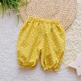 聖誕節狂歡 女寶寶防蚊褲夏季0一1歲女嬰兒燈籠褲夏天薄款2女寶夏裝短褲外穿3 森活雜貨