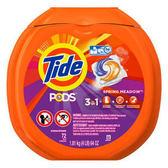 【美國 Tide】新一代洗衣凝膠球-盒裝(1.81g/72顆)*4/箱購