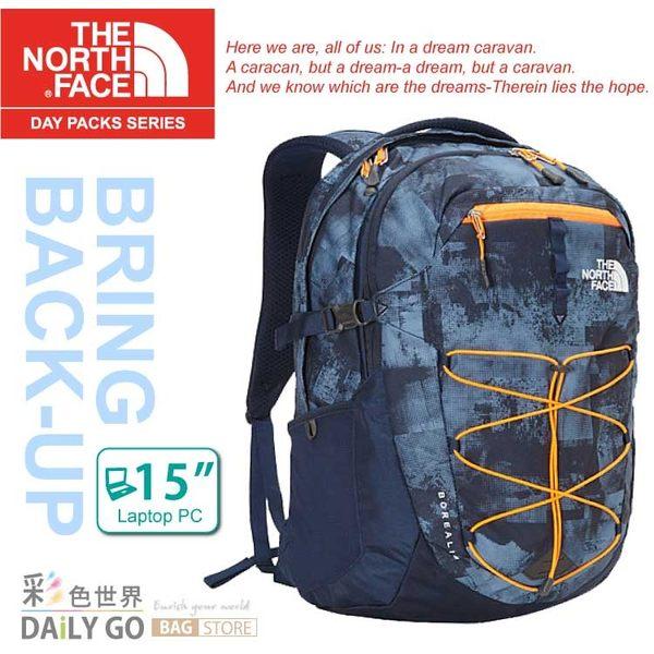 The North Face後背包包大容量15吋筆電包北臉CHK4-BTA