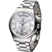 依波路 E.BOREL 布拉克系列機械腕錶 GS7350W-2590【寶時鐘錶】