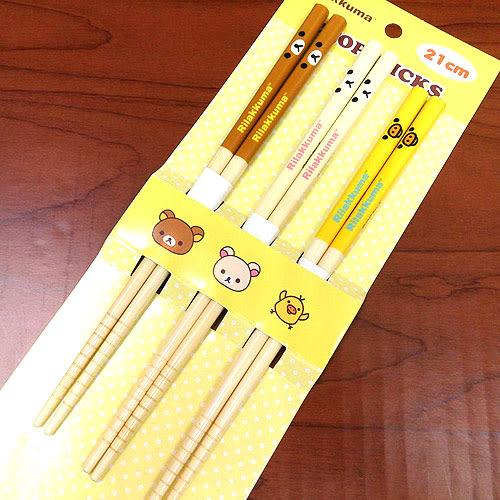 懶懶熊拉拉熊懶妹小雞筷子3入組059416通販屋