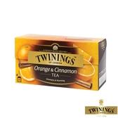 【TWININGS 唐寧】香橙肉桂茶Orange & Cinnamon 2gX25入(盒)