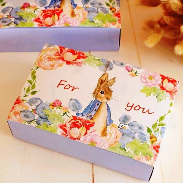 月餅包裝盒   百花月兔*5個  可放入50g6入月餅    想購了超級小物