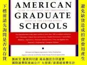 二手書博民逛書店Guide罕見To American Grad Schools: Seventh Revised Edition-