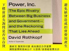 二手書博民逛書店Power,罕見Inc.: The Epic Rivalry b