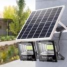 太陽能戶外燈新農村大功率防水家用一拖二1000w超亮鄉村LED庭院燈 阿卡娜