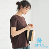 ❖ Hot item ❖  簡約法式袖素面上衣 - earth music&ecology